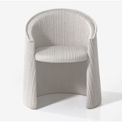Husk Indoor Armchair - new B0211 - Leather Oil cirè, Large