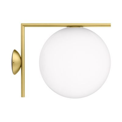 IC Wall Light Brushed Brass, Large