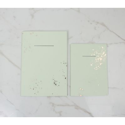 IGNEOUS NOTEBOOK | OLIVINE |  POCKET SIZE