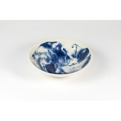 Indigo Storm Medium Serving Bowl  Indigo Storm Medium Serving Bowl