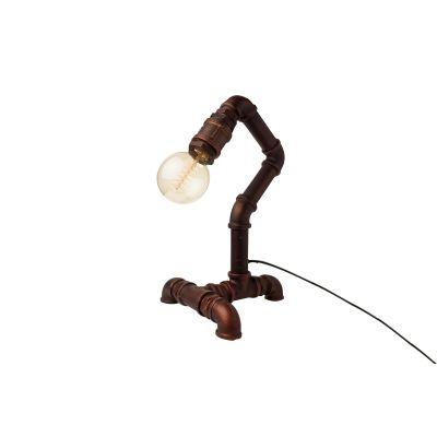 Industrial Desk Pipe Lamp Type C Plug