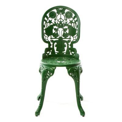 Industry Aluminium Chair Green
