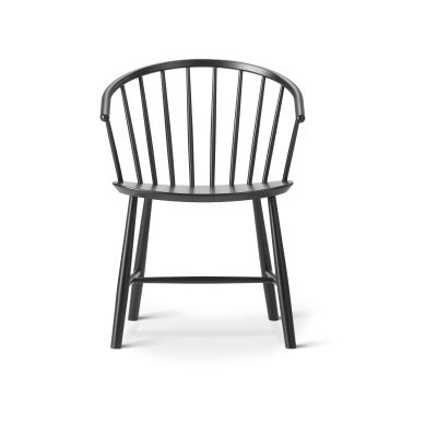 J64 Chair Black Ash