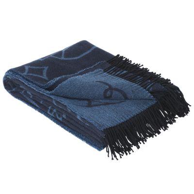 Jaime Hayon Throw - set of 2 Blue