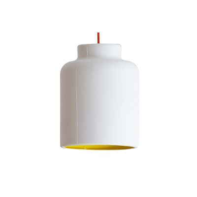 Jar Spun Pendant Light Yellow