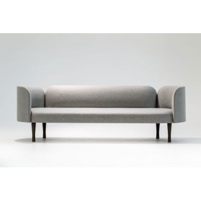 Josephine Sofa 160 x 70, Ash Natural, Category H A0336 - Washables 2 green - H
