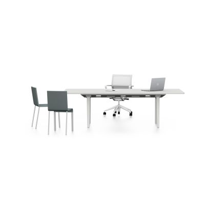 Joyn conference table 240, melamine soft light