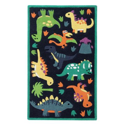 Jurassic: Childrens Wool Rug Jurassic: Childrens Wool Rug