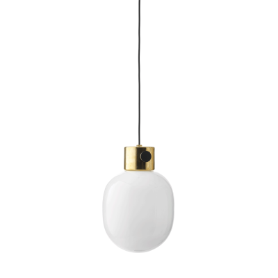 JWDA Metallic Pendant Light Mirror Polished Brass