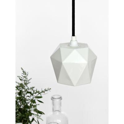 [K1] Pendant Light Triangle Glossy Porcelain
