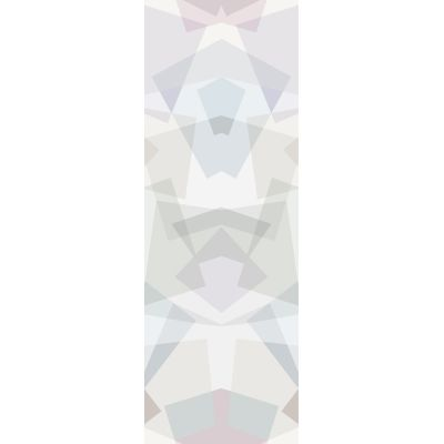 Kaleidoscope Wallpaper Grey