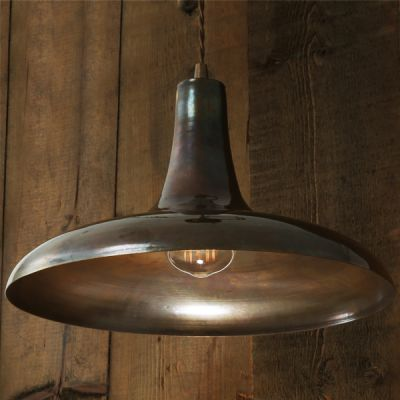 Kamal Moroccan Pendant Light Antique Brass
