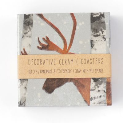Karibu Ceramic Coasters