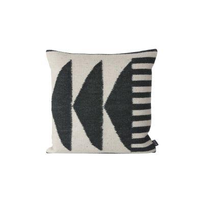 Kelim Cushion, Black Traingles - Set of 4