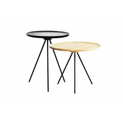 Key Coffee and Side Table Set Ash / Black