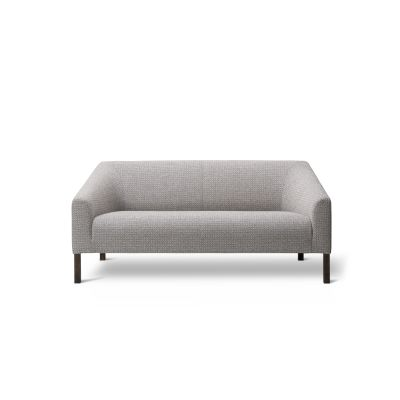 Kile Sofa 2-seater Oak Lacquered, Grand Mohair 1108