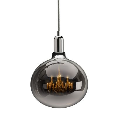 King Edison Grande Pendant Lamps King Edison Chrome Grande Pendant Lamp