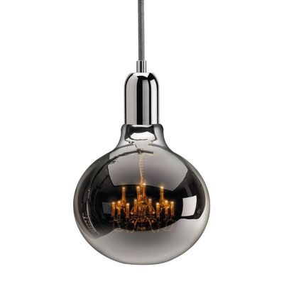 King Edison Pendant Lamps King Edison Chrome Pendant Lamp