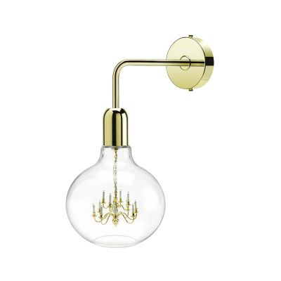 King Edison Wall Lamps King Edison Gold Wall Lamp
