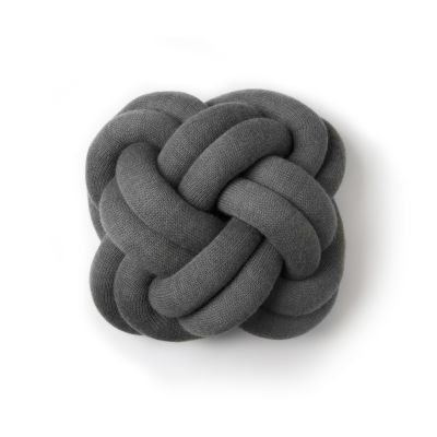 Knot Cushion - set of 2 Anthracite