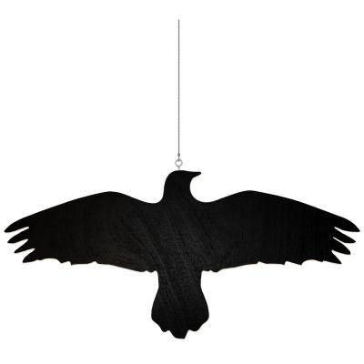 Krummi Bird Hanger Black
