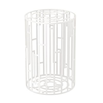 Kub Side Table Extra White