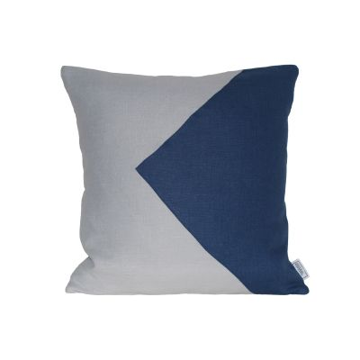 Kuni Cushion Midnight Triangle