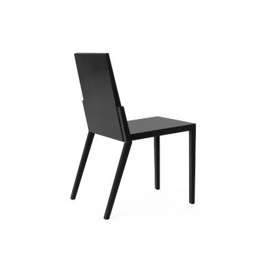 Kuusjoki Stacking Chair Black