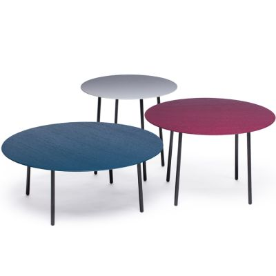 Lago wood set of 3 tables