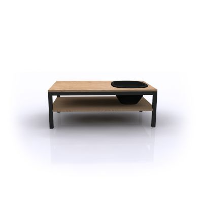 Lagune Coffee Table Wood, Black