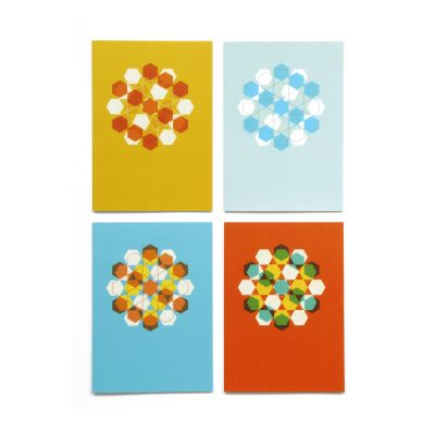 Lane Greetings Cards  Pack of 4