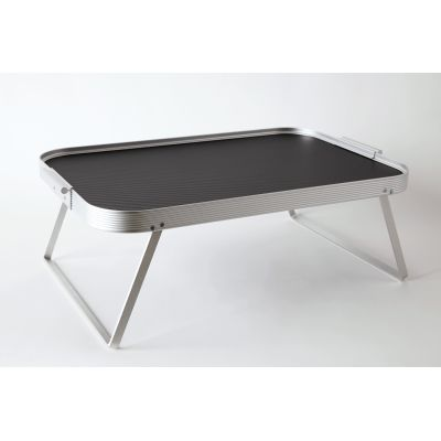 Lap Tray Black and Silver