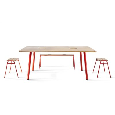 Large Working Table - Set of 10 RAL 1000