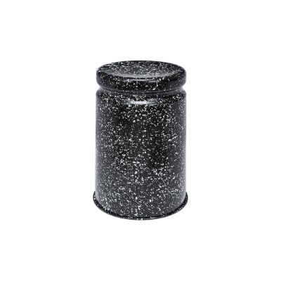 Last Stool Splatter Black, White
