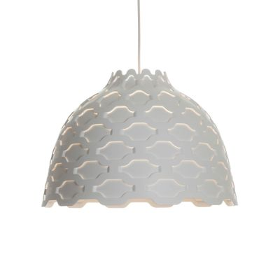 LC Shutters Pendant Light White