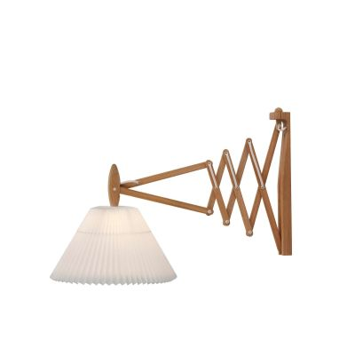 Le Klint 233 - 2/21 Wall Light Smoked Oak/Plastic Shade