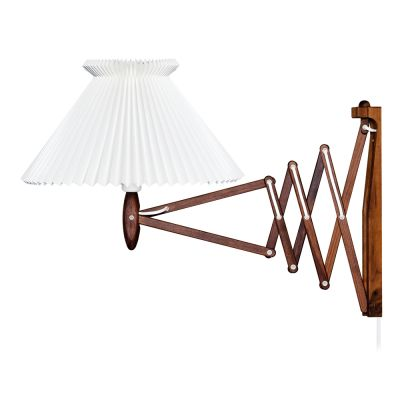 Le Klint 234 - 6/21 Wall Light Walnut/Paper Shade