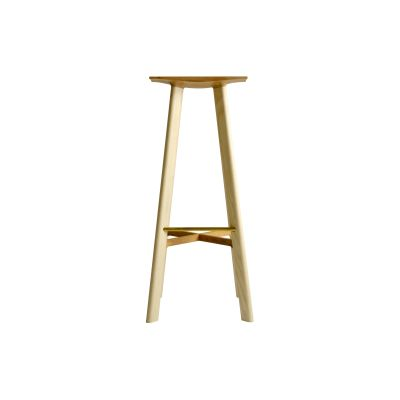 LE1 Bar Stool Ash and Ash 72cm Height