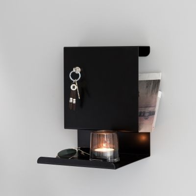 Ledge:able Shelf Black