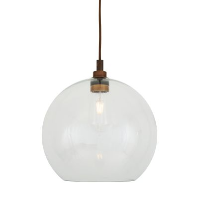 Leith Pendant Light Powder Coated White