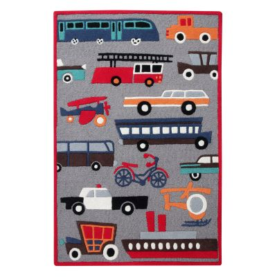 Lets Move: Childrens Wool Rug Lets Move: Childrens Wool Rug