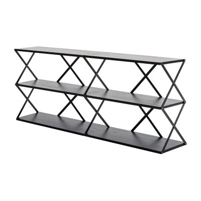 Lift 6 Wall Shelf Black