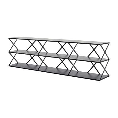 Lift 9 Wall Shelf Black