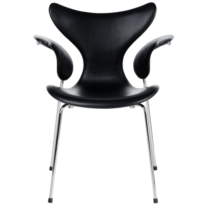 Lily Armchair Classic Leather Black