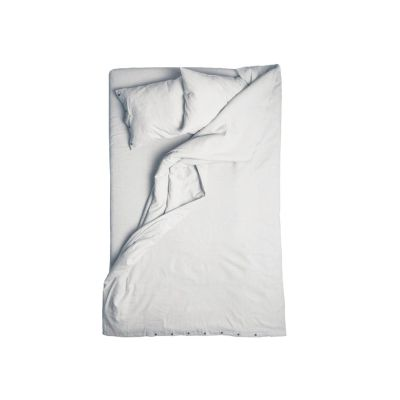 Dove grey linen duvet cover King/UK Super King, 260cm x 220cm
