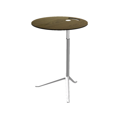 Little Friend Table - Height Adjustable Laminate Black, black lacquer