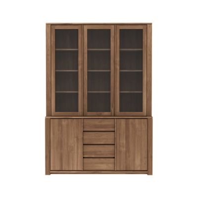Lodge Cupboard 154 x 36-46 x 220 cm