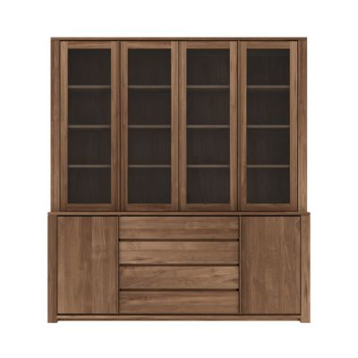 Lodge Cupboard 200 x 36-46 x 220 cm