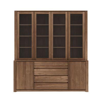 Lodge Cupboard 200 x 36-46 x 220 cm