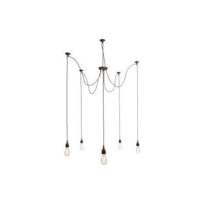 Lome Cluster Chandelier Satin Brass